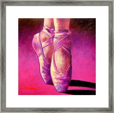 Ballet Shoes  II Framed Print by John  Nolan
