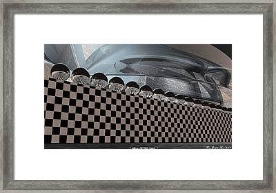 Balls To The Wall Framed Print by Wayne Bonney
