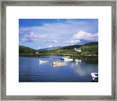 Ballycrovane Harbour, Beara Peninsula Framed Print by The Irish Image Collection