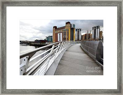 Baltic Flour Mill Framed Print by Stephen Smith
