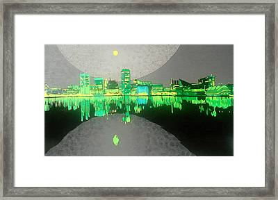 Baltimore Framed Print by Jason Charles Allen