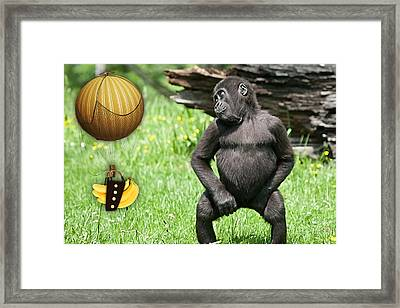 Banana Delivery Service Framed Print by Marvin Blaine