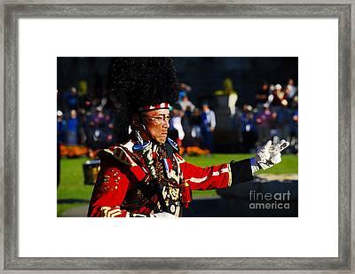 Band Leader Framed Print by David Lee Thompson