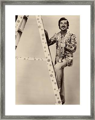 Band Leader Doc Serverinsen 1974 Framed Print by Mountain Dreams