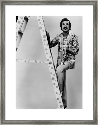 Band Leader Doc Severinson 1974 Framed Print by Mountain Dreams