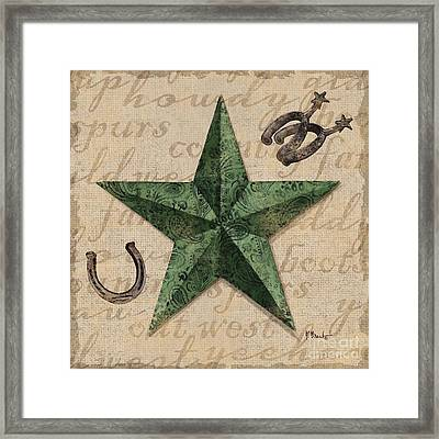 Bandana Barn Star IIi Framed Print by Paul Brent