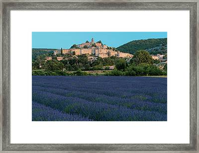 Banon Framed Print by Christian Heeb