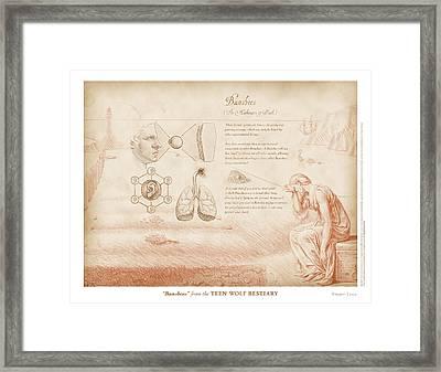Banshees Framed Print by Swann Smith