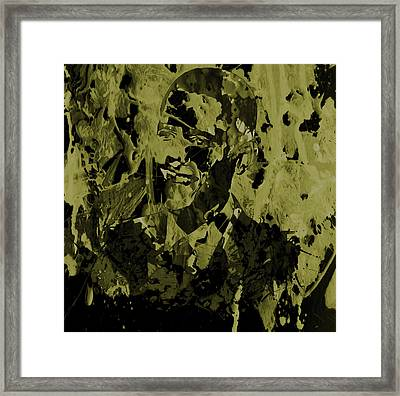 Barack Obama 3a Framed Print by Brian Reaves