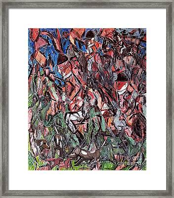 Barbaric Nobility Framed Print by Morgan Long