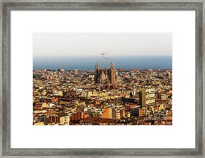 Barcelona Framed Print by Svetlana Sewell