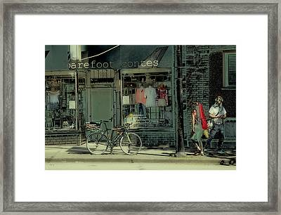 Barefoot Contessa Framed Print by Theresa Tahara