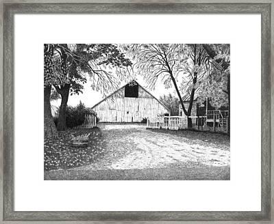Barn 20 Framed Print by Joel Lueck