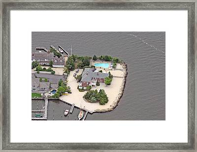 Barnegat Bay House Mantoloking New Jersey Framed Print by Duncan Pearson