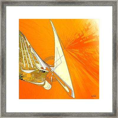 Barrier Framed Print by Van Renselar