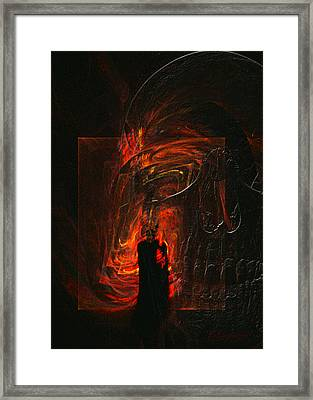 Barter For Your Soul Framed Print by Jean Gugliuzza