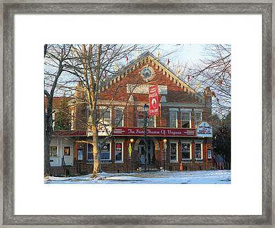 Barter Theatre Framed Print by Karen Wiles