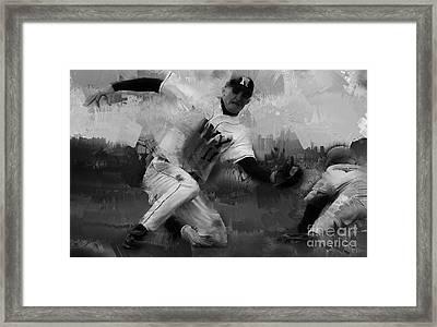 Base Ball  Framed Print by Gull G