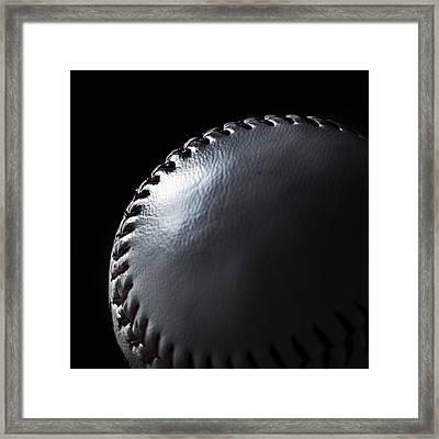 Baseball Framed Print by Martin Newman
