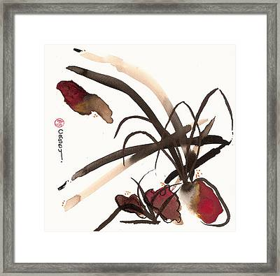 Basho Framed Print by Casey Shannon