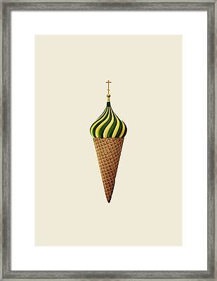 Basil Flavoured Framed Print by Nicholas Ely