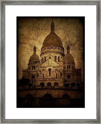 Basilica Framed Print by Andrew Paranavitana