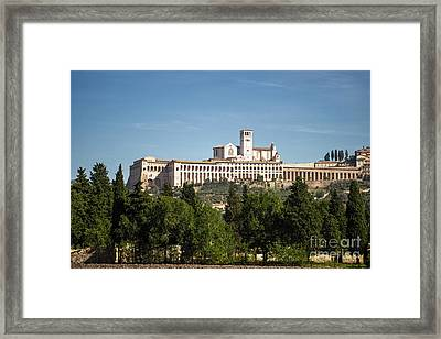 Basilica Of San Francesco D'assisi Framed Print by Prints of Italy