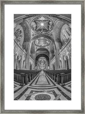 Basilica Of The National Shrine Of The Immaculate Conception IIb Framed Print by Susan Candelario