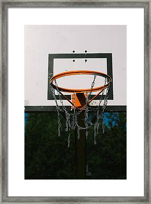 Basket Ring Framed Print by Pati Photography