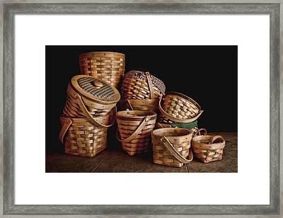 Basket Still Life 01 Framed Print by Tom Mc Nemar