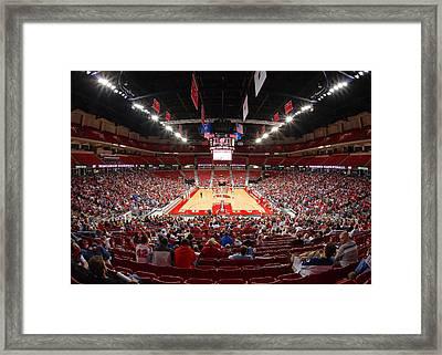 Basketball Game Framed Print by Todd Klassy