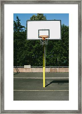 Basketball Framed Print by Pati Photography