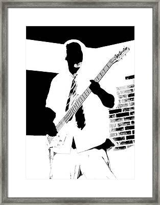 Bass Framed Print by DG Terry