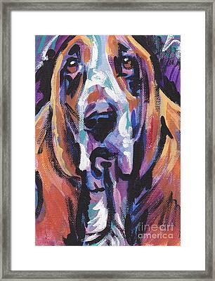 Bassi Net Framed Print by Lea S
