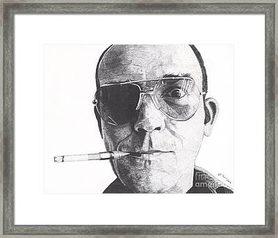 Bat Country Framed Print by Jeff Ridlen