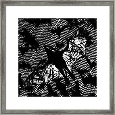 BAT Framed Print by Stuart Shadwell