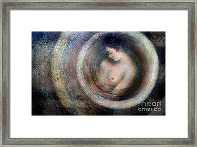 Bath Framed Print by Jose Maria Diaz Ligueri