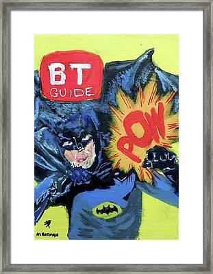 Batman Day 15 Framed Print by B T