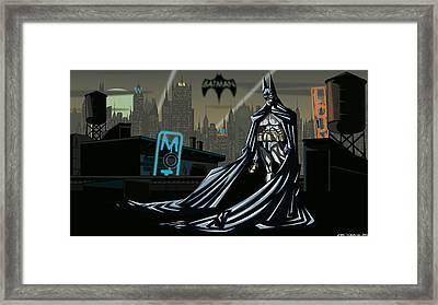 Batman Framed Print by Jason Diesbourg