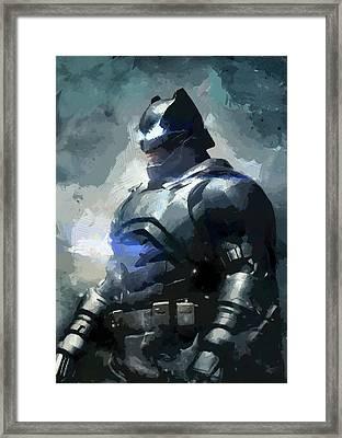 Batman Framed Print by Mortimer Twang