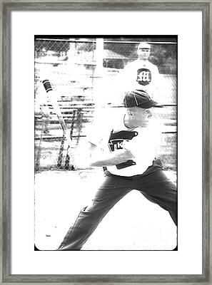 Batter Up  Framed Print by Steven  Digman