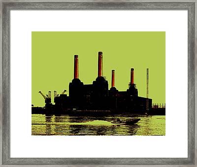 Battersea Power Station London Framed Print by Jasna Buncic