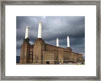 Battersea Power Station, London, Uk Framed Print by Johnny Greig