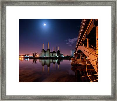 Battersea Power Station Framed Print by Vulture Labs
