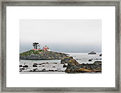 Battery Point Lighthouse California Framed Print by Christine Till