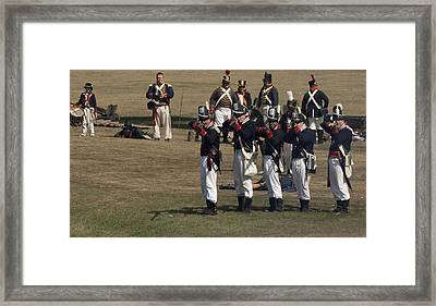 Battle 5 Framed Print by Peter Chilelli