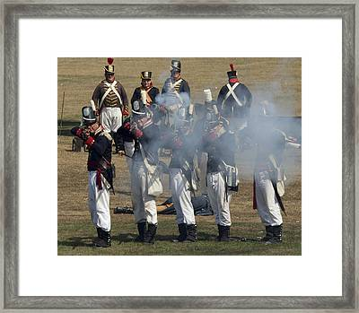 Battle 6 Framed Print by Peter Chilelli