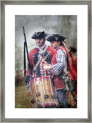 Battle Drums Framed Print by Randy Steele