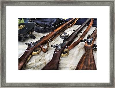 Battle Gear Framed Print by Peter Chilelli