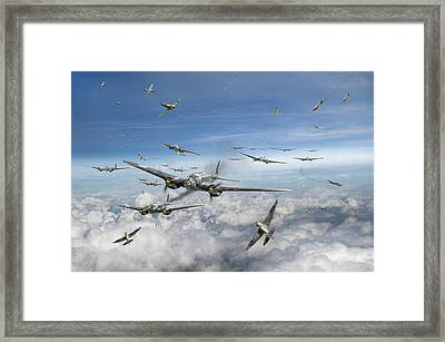 Battle Of Britain Day  Framed Print by Gary Eason